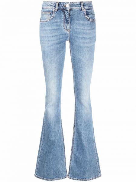 Голубые джинсы из полиэстера Blumarine
