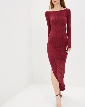 Платье бордовый красный Mirasezar