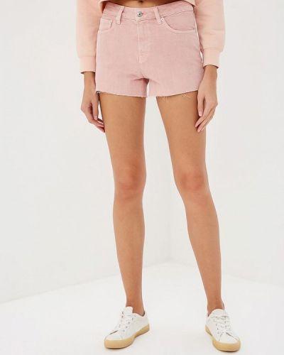Розовые шорты повседневные Mango