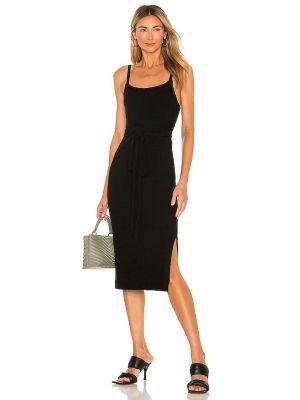 Черное платье классическое Line & Dot