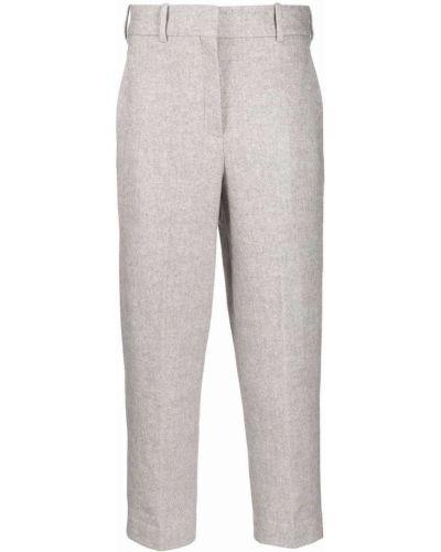 Укороченные брюки - серые Circolo 1901