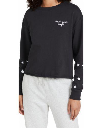 Хлопковый пуловер - черный Spiritual Gangster