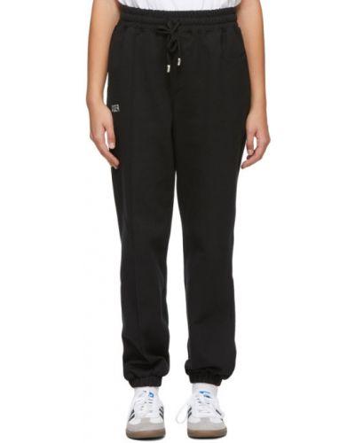 Czarne spodnie bawełniane Ader Error