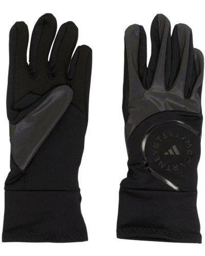 Czarne rękawiczki Adidas By Stella Mccartney