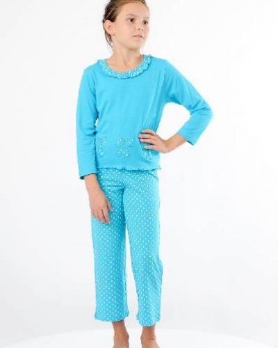 Пижама со штанами - синяя Lowry