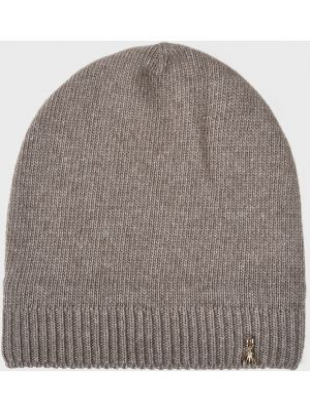 Кашемировая шапка - коричневая Patrizia Pepe