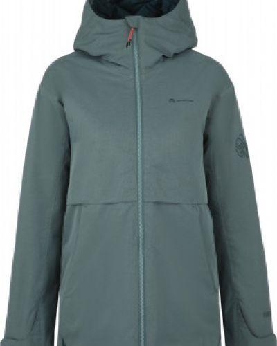 Зеленая утепленная куртка на молнии Outventure