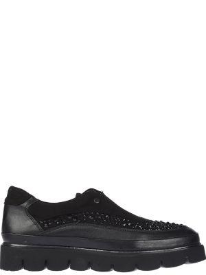 Кожаные туфли - черные Lab-milano