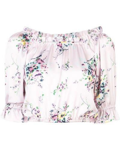 Фиолетовая блузка с манжетами Jill Stuart