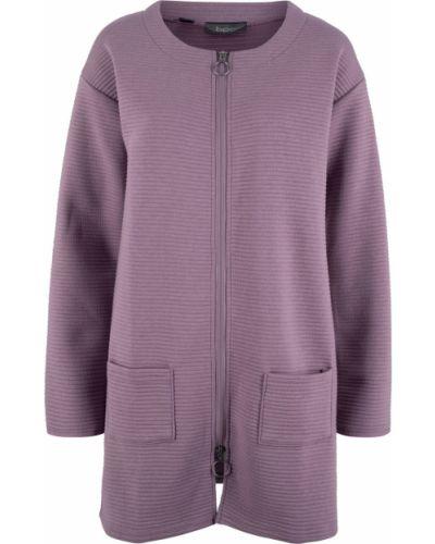 Кардиган фиолетовый сиреневый Bonprix