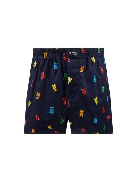 Niebieskie majtki bawełniane Happy Shorts