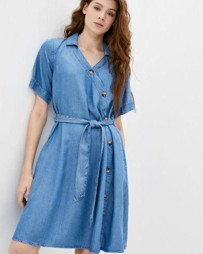 Джинсовое платье - синее U.s. Polo Assn.