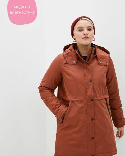 Утепленная куртка - коричневая Zizzi