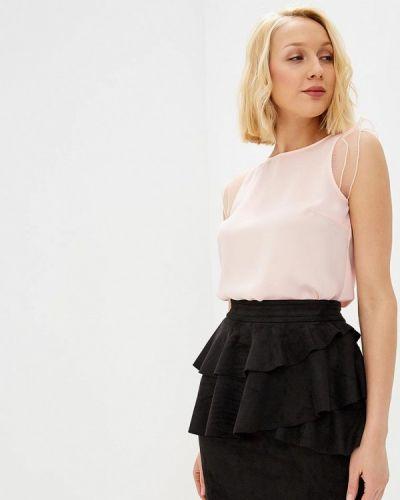 Блузка с рюшами розовый Love Republic