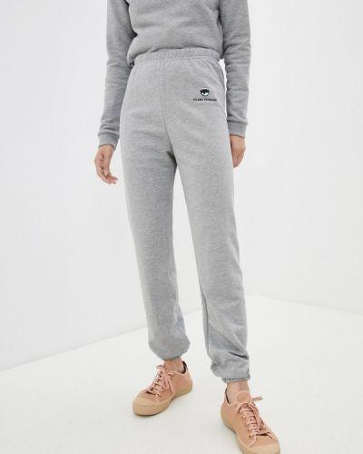 Серые спортивные брюки Chiara Ferragni Collection