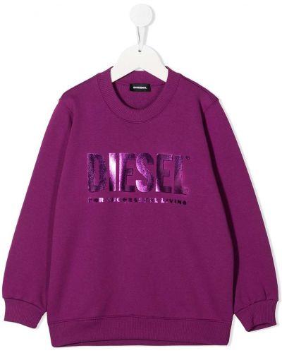 Свитшот с логотипом Diesel Kids
