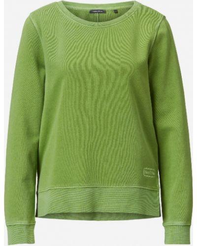 Хлопковая зеленая толстовка винтажная Marc O' Polo