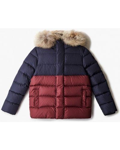 Утепленная красная куртка Il Gufo