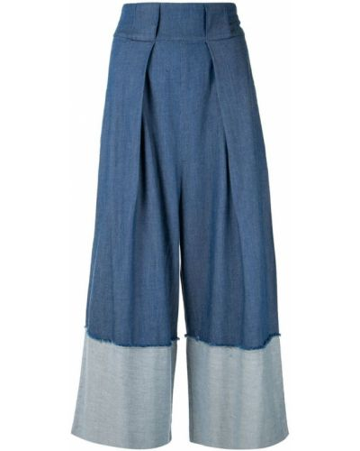 Широкие джинсы с поясом Kitx