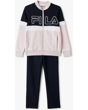 Спортивный костюм розовый синий Fila