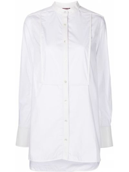 Рубашка без воротника - белая Staud