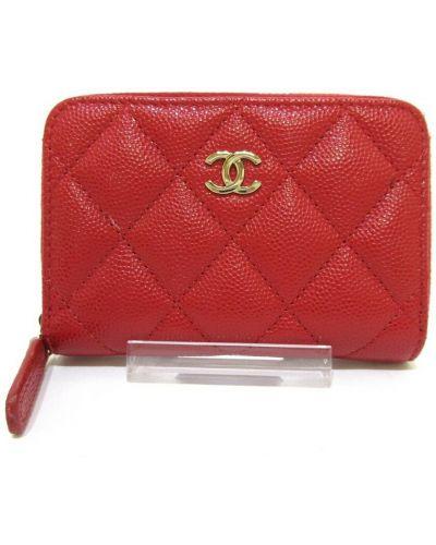 Czerwony portfel Chanel Vintage