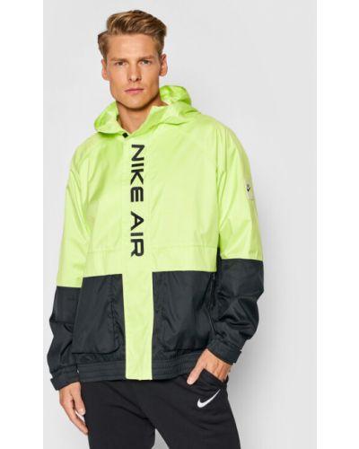 Wiatrówka - zielona Nike