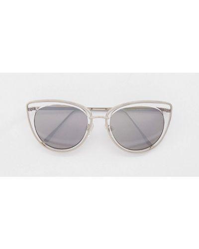 Солнцезащитные очки - серебряные Skinnydip