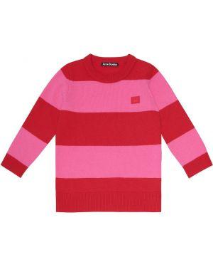 Теплый шерстяной свитер Acne Studios Kids