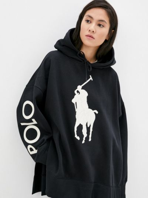 Худи - черное Polo Ralph Lauren