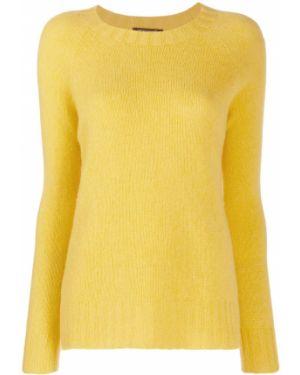 Желтый свитер в рубчик Aragona
