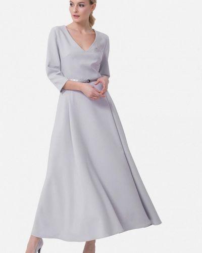 Вечернее платье - серое Jn