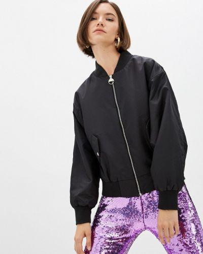 Черная зимняя куртка Chiara Ferragni Collection