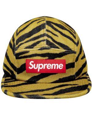 Czapka z logo czarny Supreme