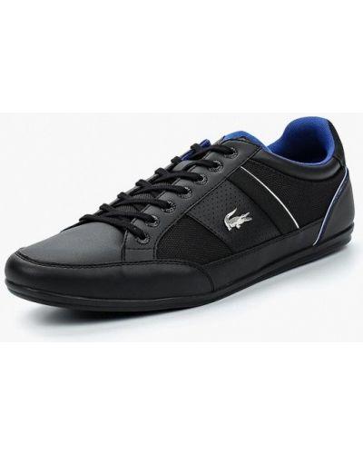 Черные кроссовки Lacoste