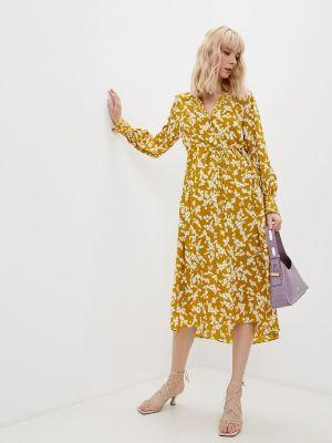 Платье рубашка - коричневое French Connection