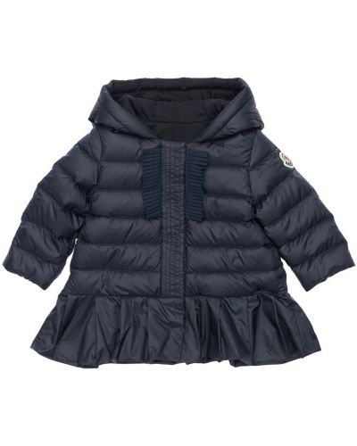 Puchaty bawełna kurtka prążkowany Moncler