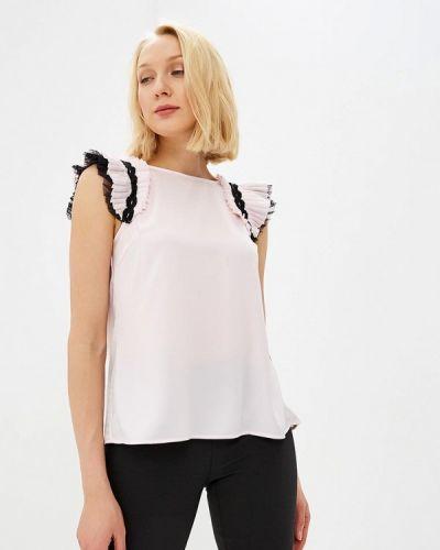 Блузка без рукавов розовый Love Republic