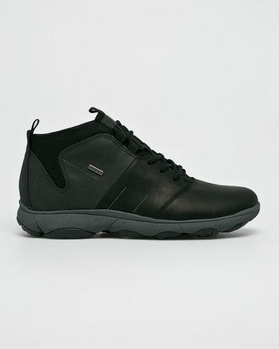 Ботинки на шнуровке кожаные высокие Geox
