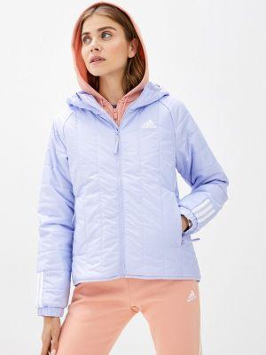 Утепленная куртка - фиолетовая Adidas