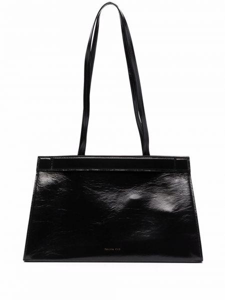 Черная сумка тоут Rejina Pyo