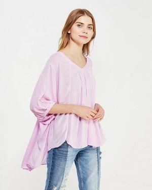 Фиолетовая блузка с длинным рукавом Free People