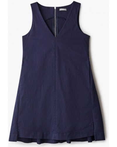 Повседневное синее платье Gulliver