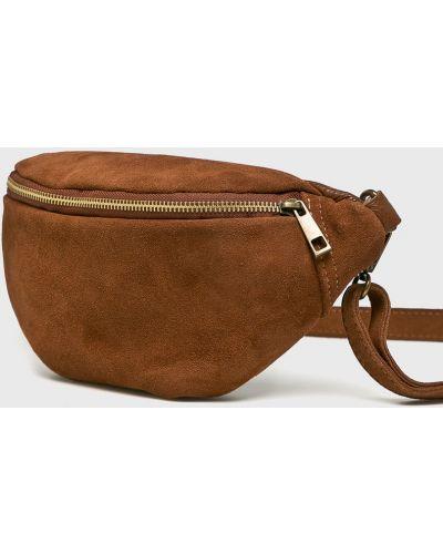 Поясная сумка кожаный среднего размера Answear