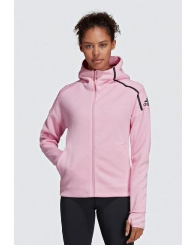 Толстовка розовый 2019 Adidas