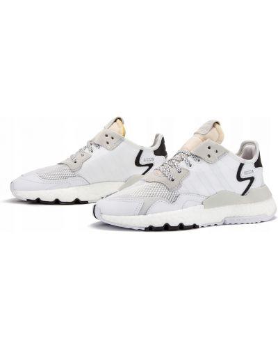 Biały joggery zasznurować Adidas