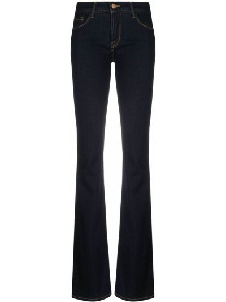 Расклешенные синие с завышенной талией джинсы J Brand