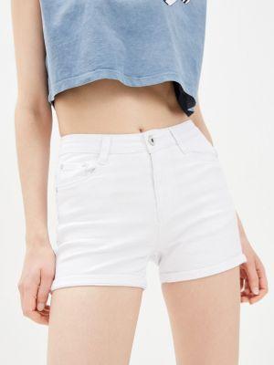 Белые джинсовые шорты Bruebeck