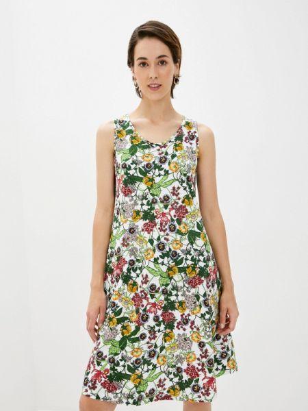 Повседневное зеленое повседневное платье Lori