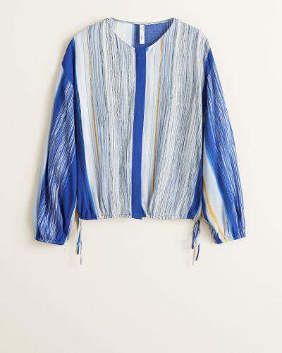 Блузка прямая из вискозы Mango